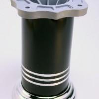 Опора А D60х100мм, хром/черный