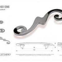 Ручка-скоба Валмакс FS-160 96мм,хром глянец