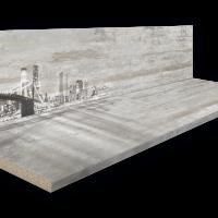 Столешница A-04 в к-те со стеновой панелью