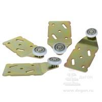 Комплект верхних роликов на 2двери (МС-1405 А) арт 050204/1 до45кг
