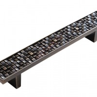 Скоба Metax RD-192мм, хром, черный
