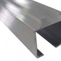 Верхняя направляющая  для раздвижных дверей 019-UB (SKS 51) 2м, 3м