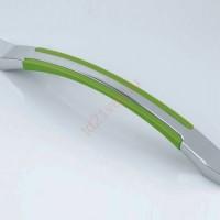 Скоба Metax K830-128мм хром/клен, хром/груша,хром/вишня,хром/махагон, хром/венге, хром/желтый, хром/зеленый, хром/красный, хром/синий