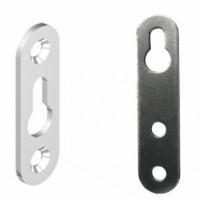 навесная пластина 2 шурупа (прорезь сверху, посредине)