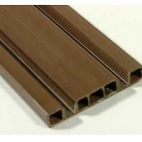 Направляющая сдвоенная коричневая 2м, 3м