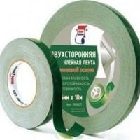 двусторонний скотч зеленый 5м, 10м, 25м, 50м
