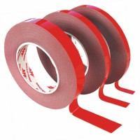 двусторонний скотч красный 5м, 10м, 25м, 50м