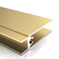 Рамка нижняя 2,7м, лак.Венге,мат.бронза, мат.золото, мат.серебро, мат.шампань