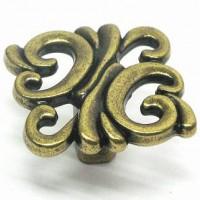Ручка-кнопка Giusti WP0707французская бронза