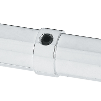 торцевой соединитель труб D16mm,(JK59) хром