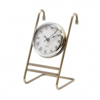 Часы на рейлинг MX-408 хром, бронза
