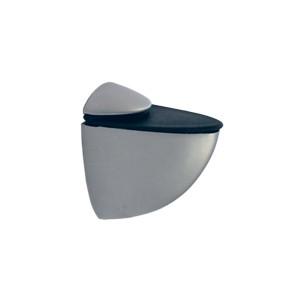 Полкодержатель для стекла и плит `Средний`52х40х20 мм, ма.хром, хром, сатен, золото