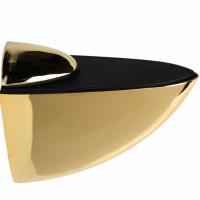 Полкодержатель для стекла и плит `Гигант`102х70х32 мм,мат.хром,хром,сатин,золото