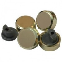 Зеркалодержатель металл D=20мм(к-т 4шт.), золото, мат.хром, хром