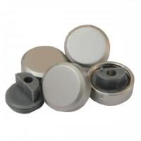 Зеркалодержатель металл D=25мм(к-т 4шт.), золото, мат.хром, хром
