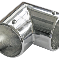Соединительный угол D50мм,хром Т2885
