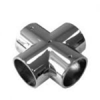 Х-образное соединение для трубы 25 мм