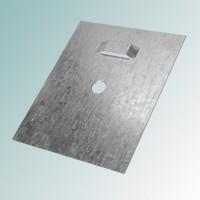Пластина Тип 2 104х130х7 для скрытой навески зеркал