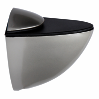 Полкодержатель для стекла и плит `Большой`64х45х29 мм, мат.хром, хром,сатен,золото