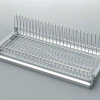 Сушилка для посуды 1-но ур. 600 мм с рамой и поддоном VARIANT, хром
