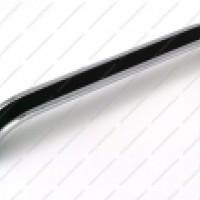 Ручка-скоба VGX-128мм, 160мм хром/черный/венге/белый/баклажан/бежевый