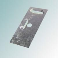 Пластина Тип 1 50х130х7 для скрытой навески зеркал